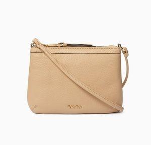 Calvin's Klein crossbody bag light brown